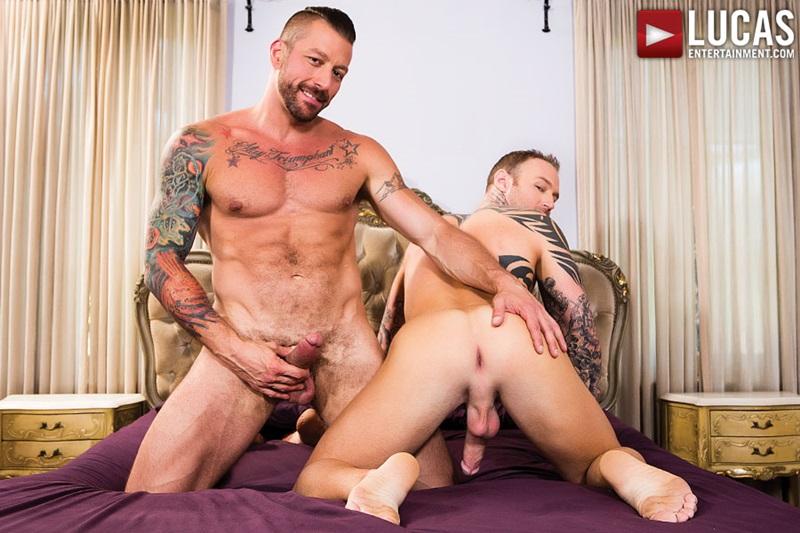 LucasEntertainment-Dylan-James-Hugh-Hunter-bareback-ass-Fuck-Rough-Raw-big-dick-rimming-cocksucking-muscled-tattoo-hunks-01-gay-porn-star-sex-video-gallery-photo