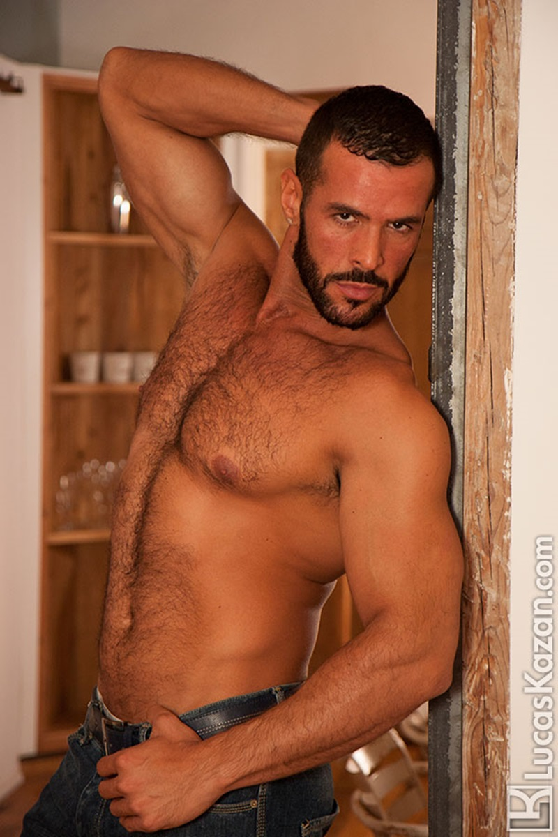LucasKazan-sexy-Spanish-muscle-hunk-Denis-Vega-hairy-chest-Spaniard-real-muscled-man-huge-erect-dick-tanned-dark-hair-ripped-six-pack-abs-07-gay-porn-star-sex-video-gallery-photo