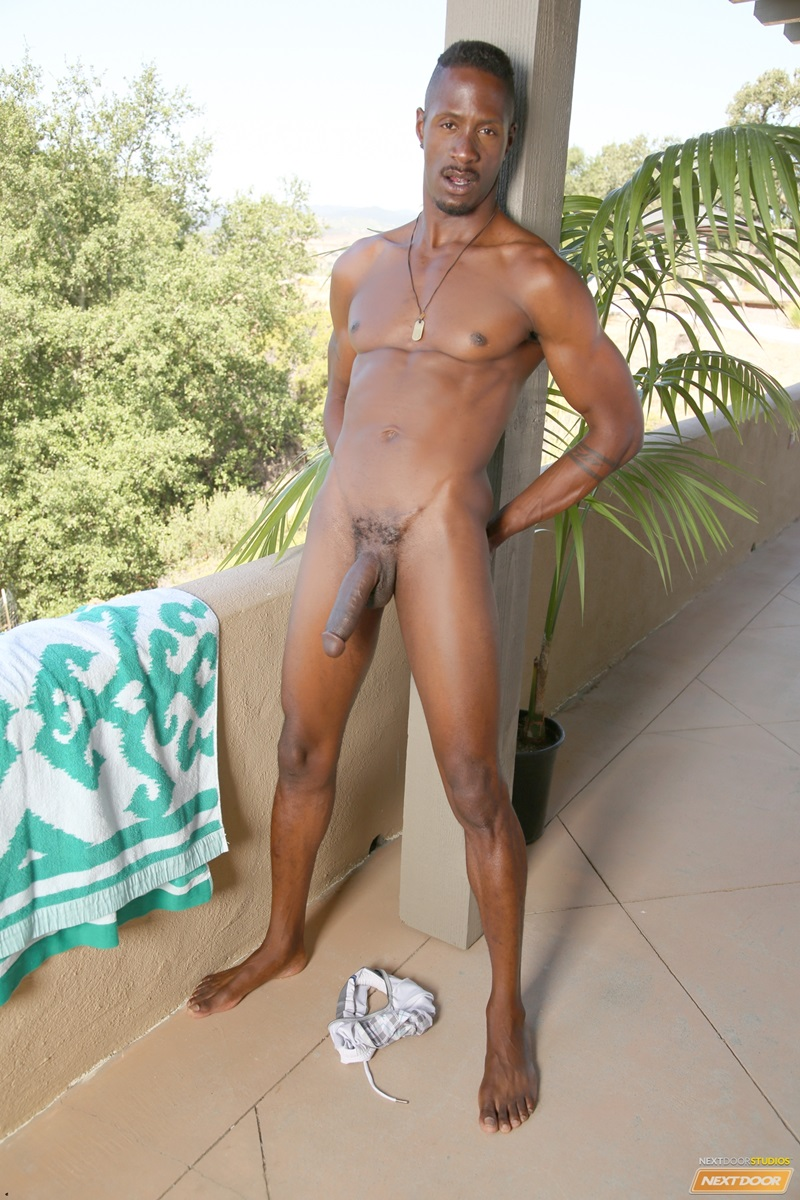 black male nude