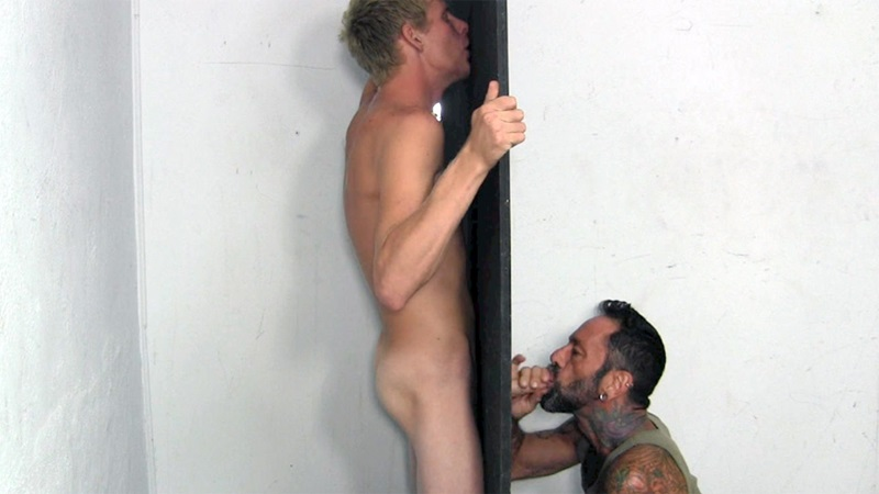 StraightFraternity Blonde surfer Jason big thick hung cock sucked Straight gloryhole blowjob cocksucker cumload 11 gay porn star sex video gallery photo - Young dude Jason gets his best blowjob ever at the Straight Fraternity Glory Hole