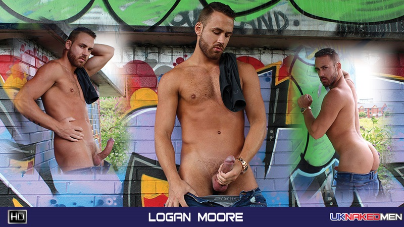 UKNakedMen-sexy-guy-beefy-hairy-stud-big-uncut-cock-cum-load-Logan-Moore-handsome-hunk-naked-hairy-chest-nipples-bollocks-foreskin-18-gay-porn-star-sex-video-gallery-photo