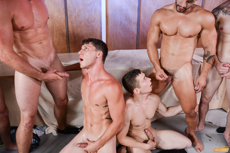 Hardcore gay orgy Johnny Torque, Arad, Quentin, Dante Martin, Pierce Hartman, Brad A, Derrick Dime, Paul Canon, Markie More, Ivan James