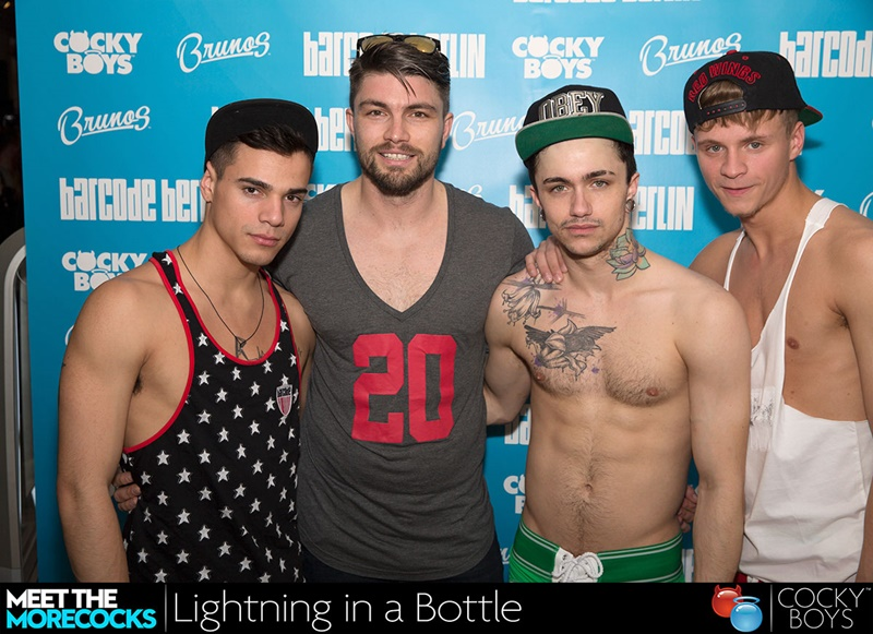 Cockyboys introduces Lightning in a Bottle starring Gabriel Clark and Max Ryder