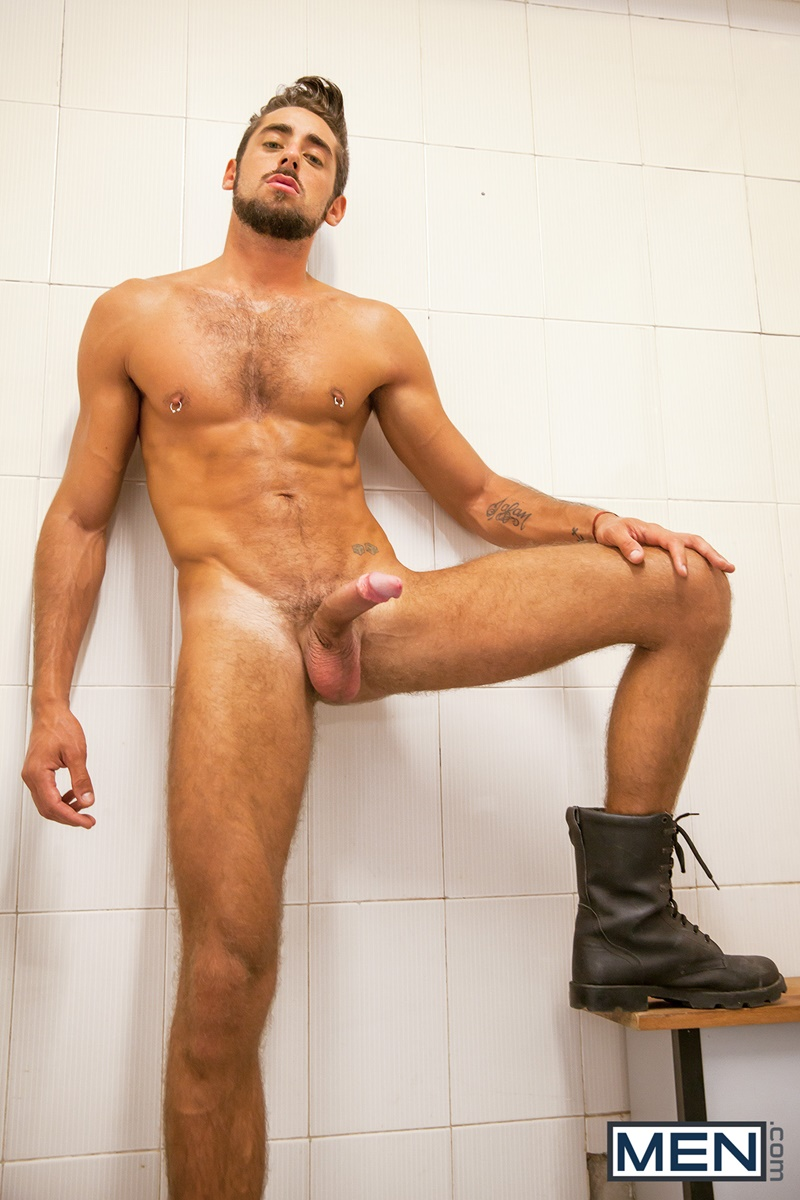 Hot and sexy stud plays his cock