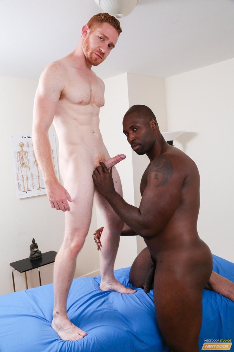 Big black male butt