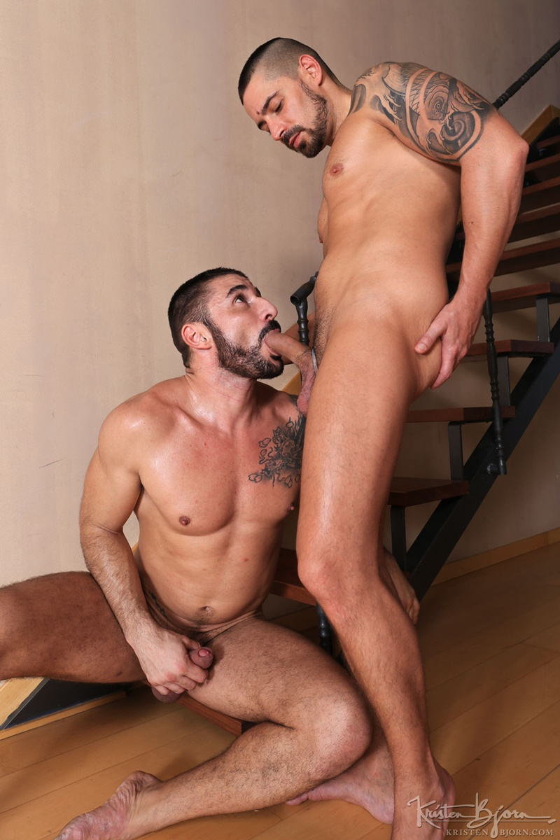 Gay sex men with xxx axel abysse and matt