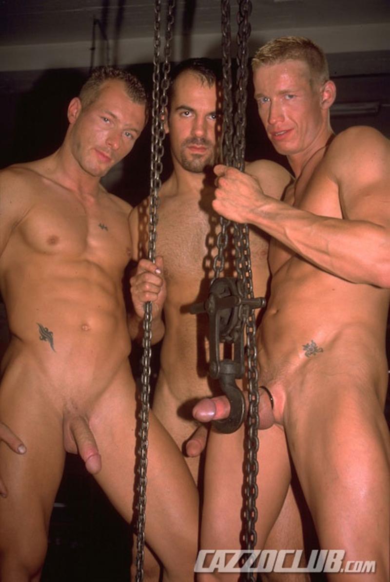 cazzo club  Andy Nickel, Jack Janus and Patrik Ekberg