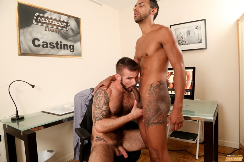 Sexy young nude dude Chris Harder and Jay Alexander hardcore ass fucking
