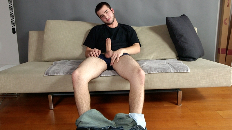 you love jack  Youngster Billy Clark wanks his 7 inch cock