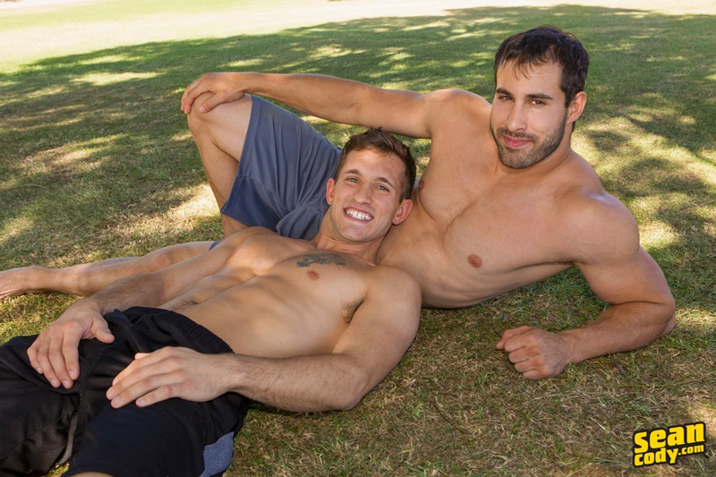SeanCody nude all american dudes bareback ass fucking Parker Randy smooth bubble butt asshole rimming cocksucking big thick dicks 001 gay porn sex gallery pics video photo - Sean Cody Parker and Randy hardcore bareback anal ass fucking