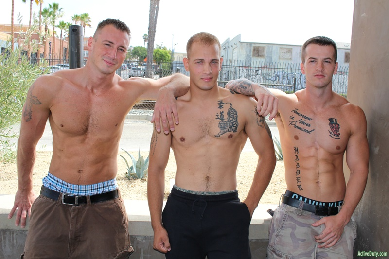 ActiveDuty sexy naked military army boys hardcore ass fucking orgy Quentin Gainz Chase Craig Cameron big thick large dicks sucking 001 gay porn sex gallery pics video photo - Hardcore ass fucking orgy with Quentin Gainz, Chase and Craig Cameron
