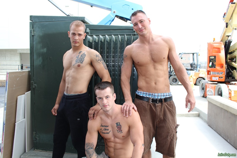 ActiveDuty sexy naked military army boys hardcore ass fucking orgy Quentin Gainz Chase Craig Cameron big thick large dicks sucking 003 gay porn sex gallery pics video photo - Hardcore ass fucking orgy with Quentin Gainz, Chase and Craig Cameron