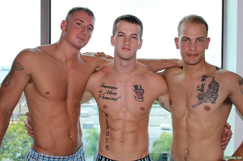 ActiveDuty sexy naked military army boys hardcore ass fucking orgy Quentin Gainz Chase Craig Cameron big thick large dicks sucking 005 gay porn sex gallery pics video photo - Hardcore ass fucking orgy with Quentin Gainz, Chase and Craig Cameron