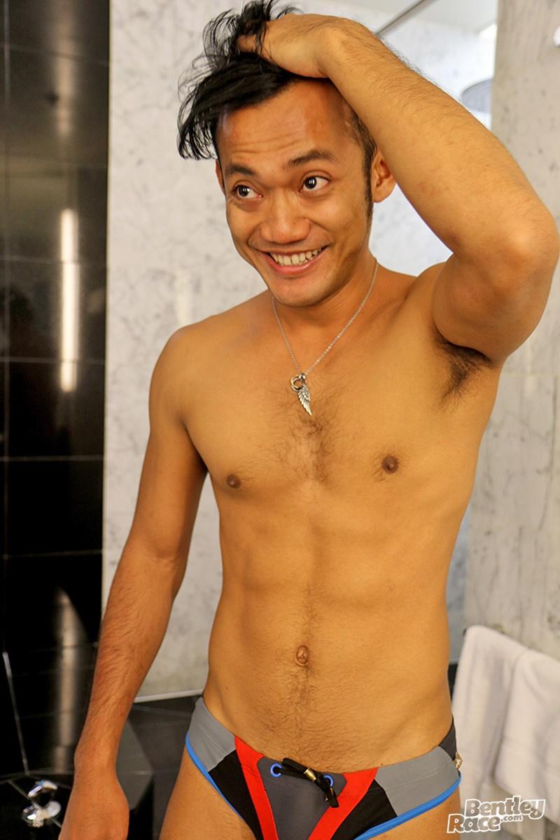 Sexy Cute Indonesian Guy Vino Rainz Drops His Speedos And -9608