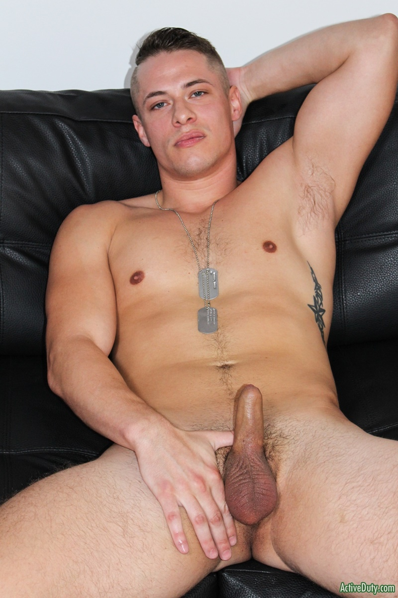 ActiveDuty Sexy young stud Aston Springs jerks big cock huge cum explosion fingering asshole bubble butt ass cheeks spread 011 gay porn sex gallery pics video photo - Sexy young stud Aston Springs jerks his big cock to a huge cum explosion