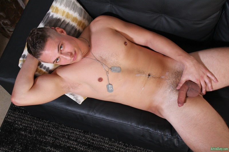 ActiveDuty Sexy young stud Aston Springs jerks big cock huge cum explosion fingering asshole bubble butt ass cheeks spread 015 gay porn sex gallery pics video photo - Sexy young stud Aston Springs jerks his big cock to a huge cum explosion