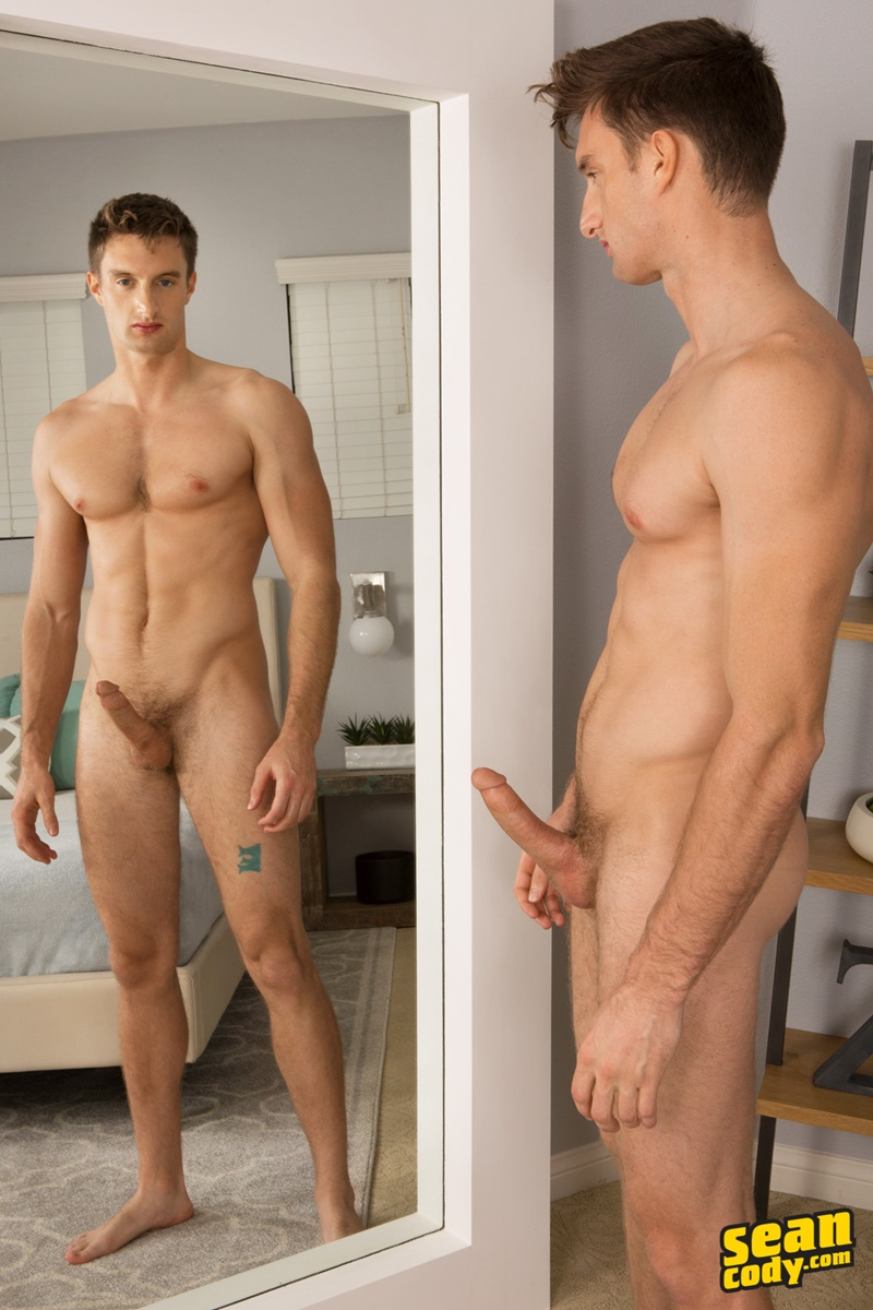 SeanCody Sexy young muscle boy Sean Cody Jakob strips naked jerks his big dick bubble butt asshole smooth chest hairless ass 014 gay porn sex gallery pics video photo - Sexy young muscle boy Sean Cody Jakob strips naked and jerks his big dick