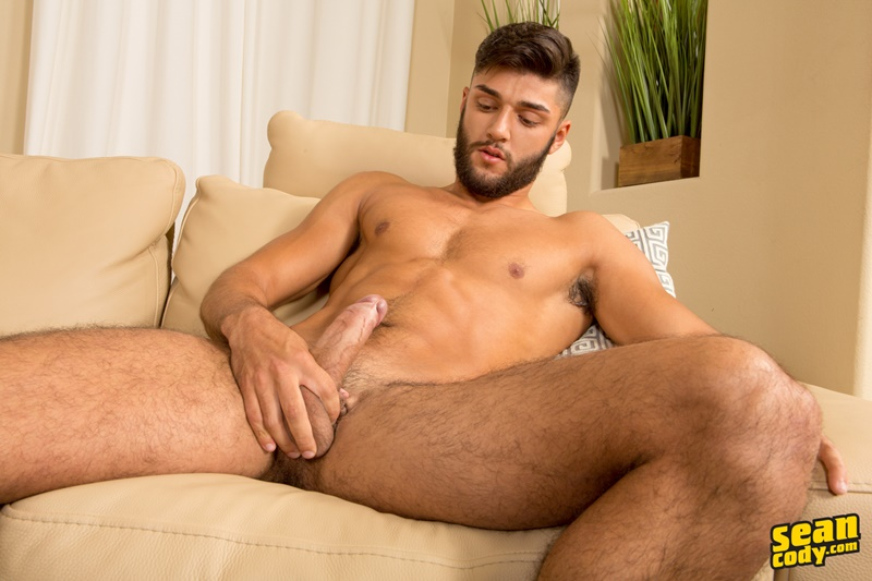SeanCody Sexy young muscle hunk Sean Cody Kipp strips naked jerks big all American boy dick ripped six pack abs foreskin 007 gay porn sex gallery pics video photo - Sexy young muscle hunk Sean Cody Kipp strips naked and jerks his big American boy dick