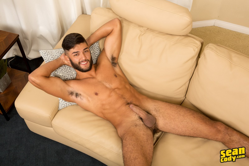 SeanCody Sexy young muscle hunk Sean Cody Kipp strips naked jerks big all American boy dick ripped six pack abs foreskin 008 gay porn sex gallery pics video photo - Sexy young muscle hunk Sean Cody Kipp strips naked and jerks his big American boy dick