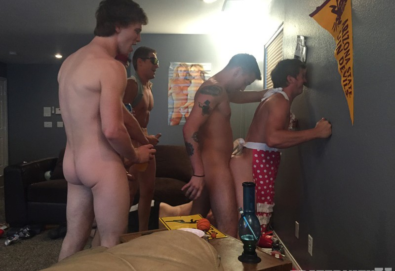 Fraternity X Ass Bashing