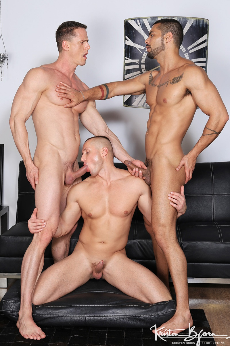 Hot Big Muscle Hunks Ivan Gregory, Denis Sokolov And Lucas -8410