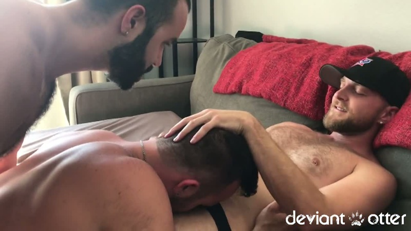 DeviantOtter young bearded gay man Otter gangbang orgy sex hardcore ass fucking anal rimming cum swapping orgasm jizz load 004 gay porn sex gallery pics video photo - Deviant Otter gangbang buddies
