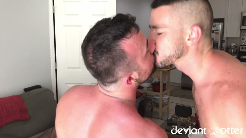 DeviantOtter young bearded gay man Otter gangbang orgy sex hardcore ass fucking anal rimming cum swapping orgasm jizz load 009 gay porn sex gallery pics video photo - Deviant Otter gangbang buddies
