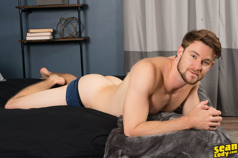 SeanCody Sexy young all American boy Kody solo jerk off masturbating public gay sex hairy chest big thick dick wanking 007 gay porn sex gallery pics video photo - Sexy young all American boy Kody has a secret he loves masturbating in public