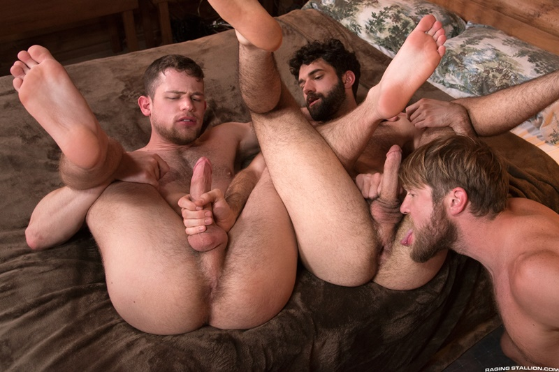 Bubble butt gay male big dick threesome Hardcore Ass Fucking Threesome Colby Keller Tegan Zayne And Kurtis Wolfe Big Dicks Fuck Tight Assholes Free Naked Gay Men Big Dicks
