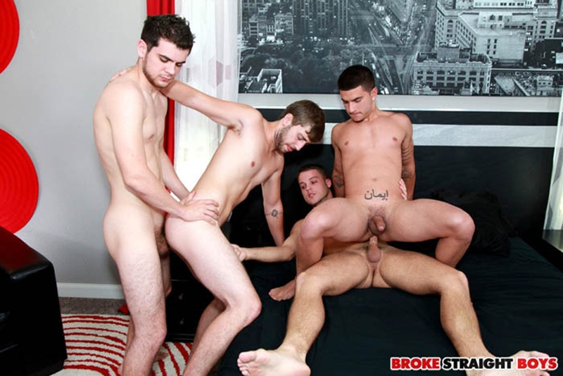 broke straight boys  Blake Savage, Brandon Beal, Zeno Kostas and Vadim Black