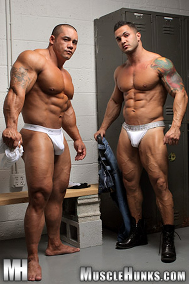 Hard body muscleman wrestler Diego El Potro v Superheavyweight muscle puppy Bill Baker at Muscle Hunks 1 Ripped Muscle Bodybuilder Strips Naked and Strokes His Big Hard Cock photo - Hard body muscleman wrestler Diego El Potro v Superheavyweight muscle puppy Bill Baker at Muscle Hunks