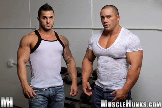Hard body muscleman wrestler Diego El Potro v Superheavyweight muscle puppy Bill Baker at Muscle Hunks 2 Ripped Muscle Bodybuilder Strips Naked and Strokes His Big Hard Cock photo - Hard body muscleman wrestler Diego El Potro v Superheavyweight muscle puppy Bill Baker at Muscle Hunks