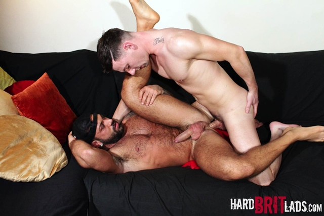 hard brit lads  Theo Reid and Sergi Rodriguez