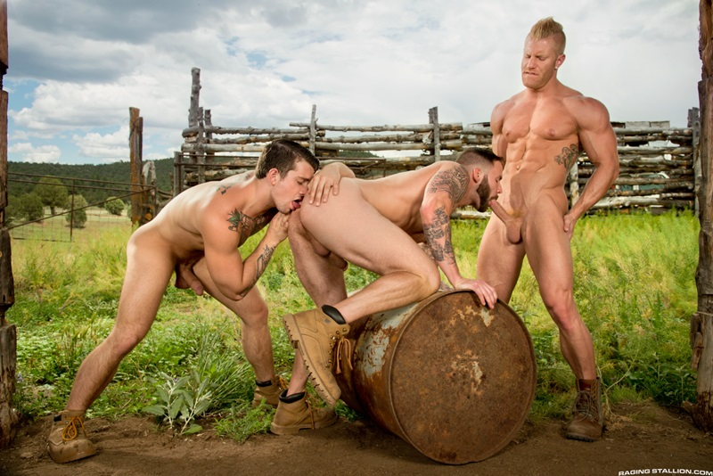 RagingStallion-Sebastian-Kross-Chris-Bines-Johnny-V-hard-on-sexy-naked-asses-muscled-body-hot-huge-cock-cum-load-balls-washboard-abs-11-gay-porn-star-sex-video-gallery-photo