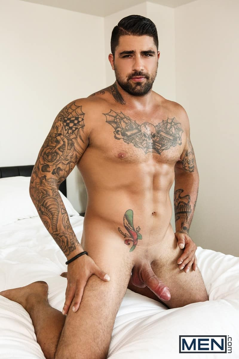 Men for Men Blog D-O-Ryan-Bones-big-muscle-hunk-blowjob-sucking-huge-hard-cock-deep-throat-Men-003-gay-porn-pictures-gallery Dark-haired D.O. gives Ryan Bones the best blowjob of his life sucking his hard cock deep down his throat Men