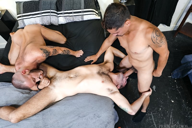 Men for Men Blog Jay-Donahue-Sean-Harding-Lex-Sabre-face-fucked-huge-uncut-cock-ass-fucking-ExtraBigDicks-007-gay-porn-pictures-gallery Jay Donahue and Sean Harding take turns getting face fucked by Lex Sabre's huge uncut cock Extra Big Dicks