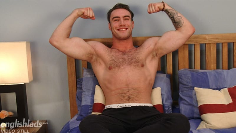 Men for Men Blog Blake-Hurd-hairy-chest-muscle-naked-hunk-big-uncut-cock-foreskin-EnglishLads-006-gay-porn-pictures-gallery Hairy chested young British stud Blake Hurd strips nude and wanks his huge uncut cock English Lads