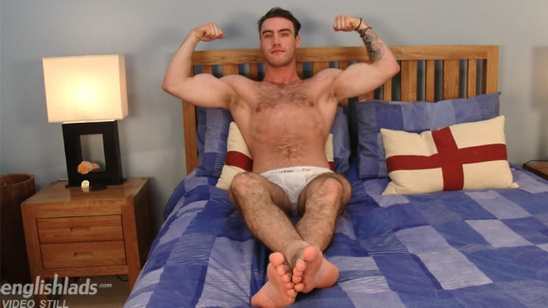 Men for Men Blog Blake-Hurd-hairy-chest-muscle-naked-hunk-big-uncut-cock-foreskin-EnglishLads-009-gay-porn-pictures-gallery Hairy chested young British stud Blake Hurd strips nude and wanks his huge uncut cock English Lads