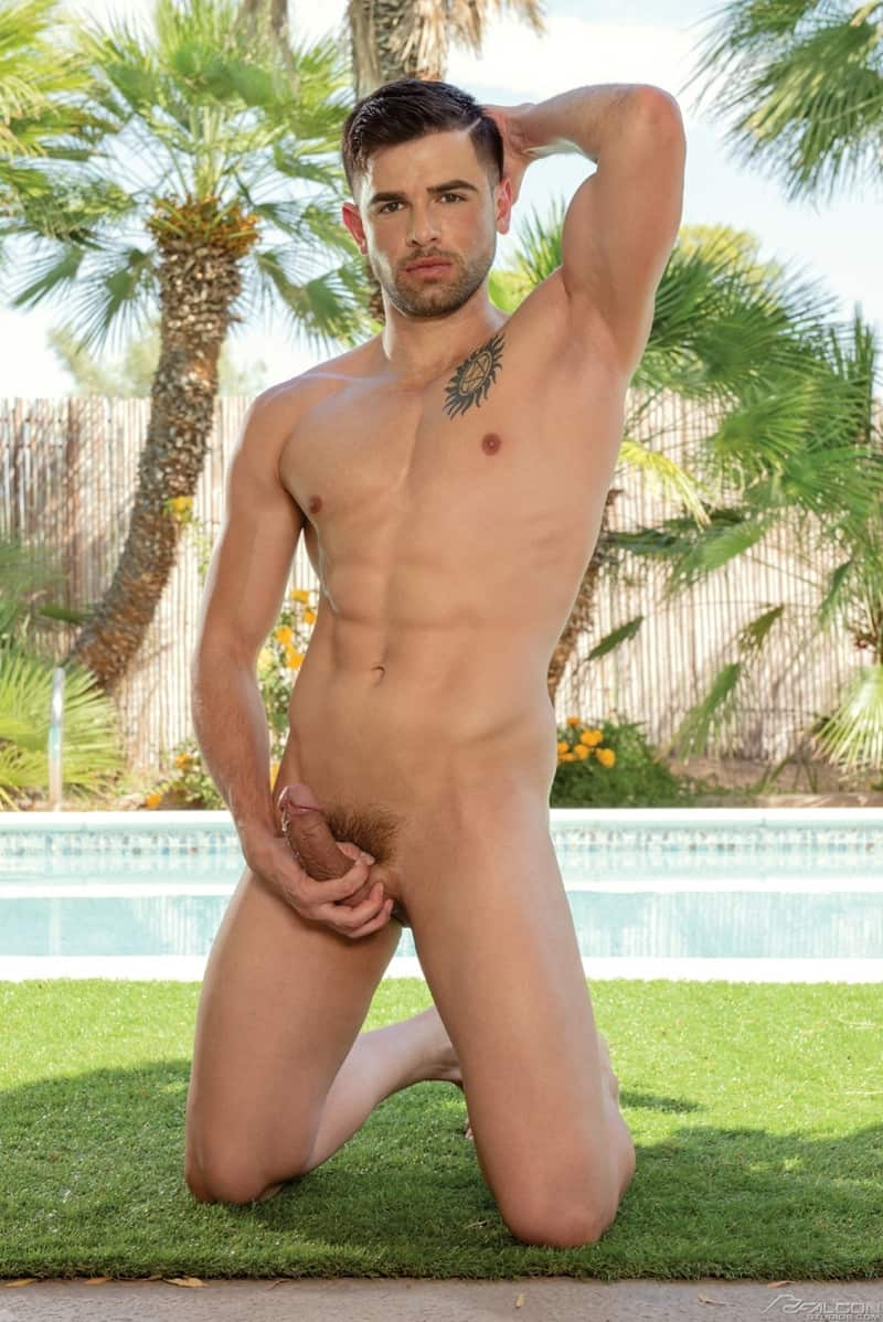 Men for Men Blog Joaquim-Cruze-Skyy-Knox-smooth-tight-ass-hole-rimming-hairless-muscle-butt-FalconStudios-007-gay-porn-pictures-gallery Joaquim Cruze spits on Skyy Knox's smooth tight hole and goes to town rimming Skyy's hairless muscle-butt Falcon Studios