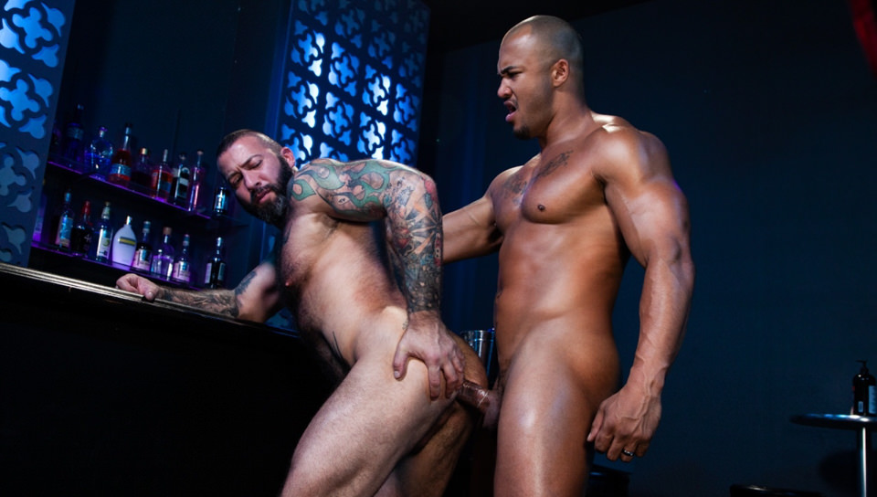 Men for Men Blog 74297_05_01 Jason Vario turns Alexander Kristov onto his back and slides his throbbing cock deep into his smooth asshole Raging Stallion