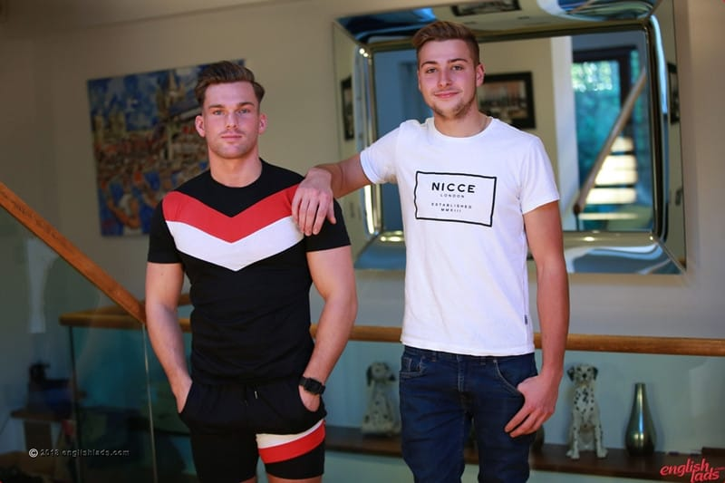 Men for Men Blog Gay-Porn-Pics-003-Jack-Harper-Frankie-Foster-Straight-Brit-boys-jerk-big-uncut-cocks-massive-cum-explosion-EnglishLads Straight Brit boys Jack Harper and Frankie Foster jerk each others' big uncut cocks to a massive cum explosion English Lads