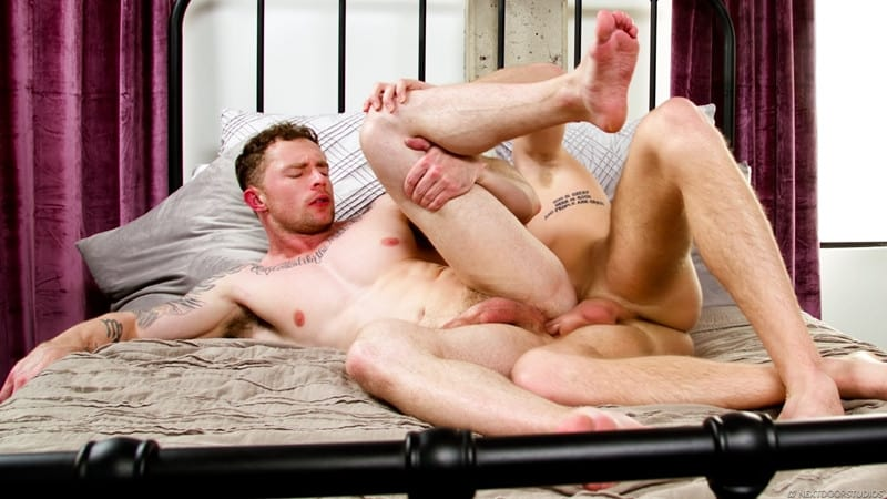 Men for Men Blog Markie-More-Miles-Matthews-gay-men-porn-stars-massive-cock-low-hanging-balls-deep-NextDoorStudios-012-gay-porn-pics-gallery Markie More feels every inch of Miles Matthews' massive dong moaning as he feels it pound him from deep inside Next Door World