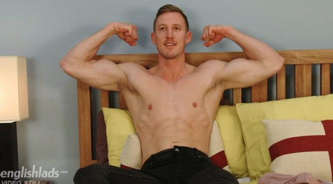 Noah Goulding is seriously well hung his uncut cock is 8.5 inches or more when fully erect