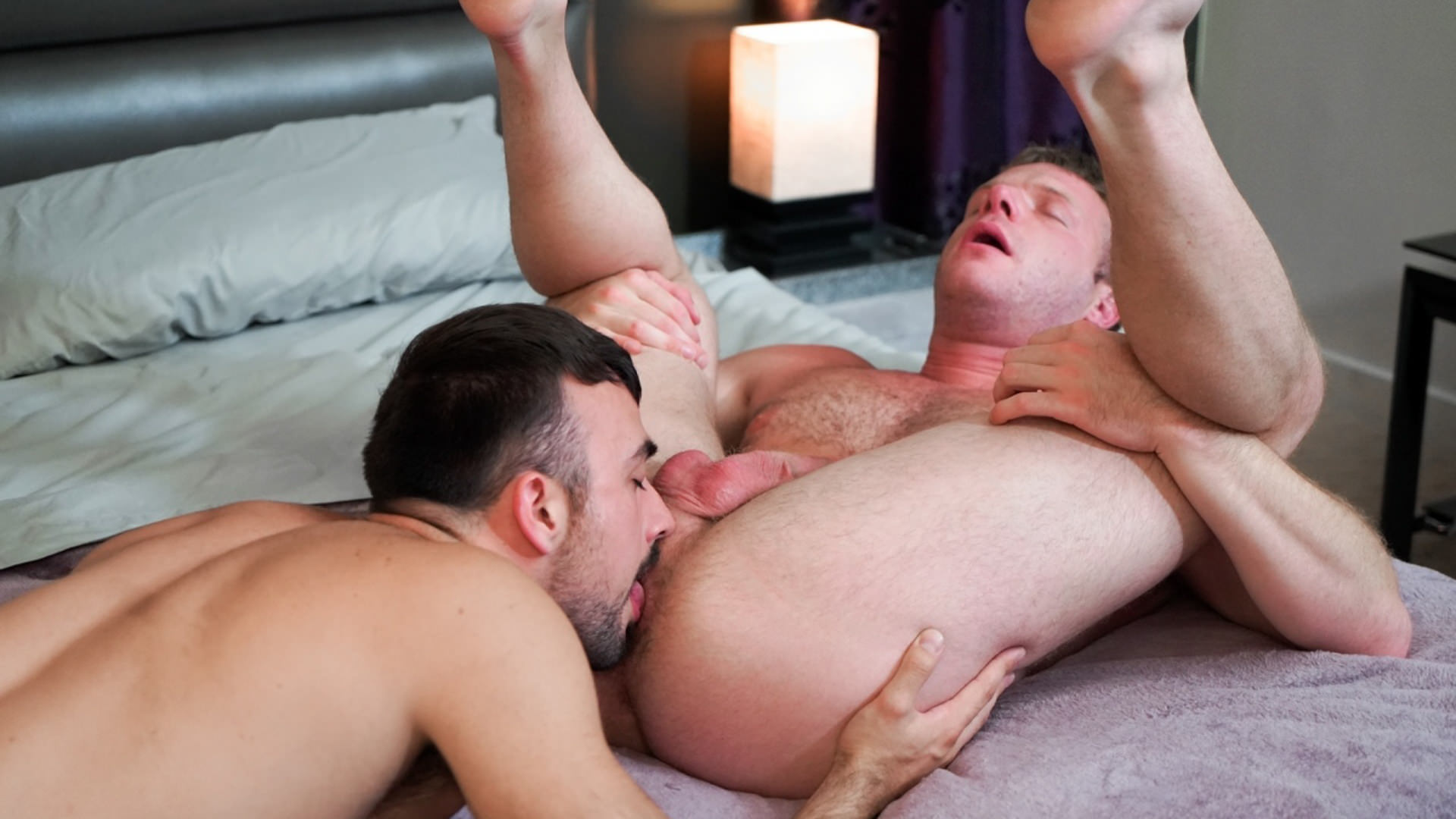 Men for Men Blog 74433_04_01 Hairy chested cub Mason Lear's huge dick fucks Brian Bonds' tight hairy asshole Icon Male