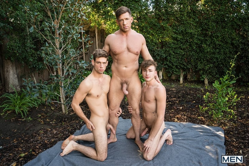 Men for Men Blog Bruce-Beckham-Michael-Del-Ray-Zander-Lane-threesome-anal-big-cock-fuck-smooth-asshole-Men-001-gay-porn-pics-gallery Bruce Beckham and Michael Del Ray fuck Zander Lane's smooth asshole Men