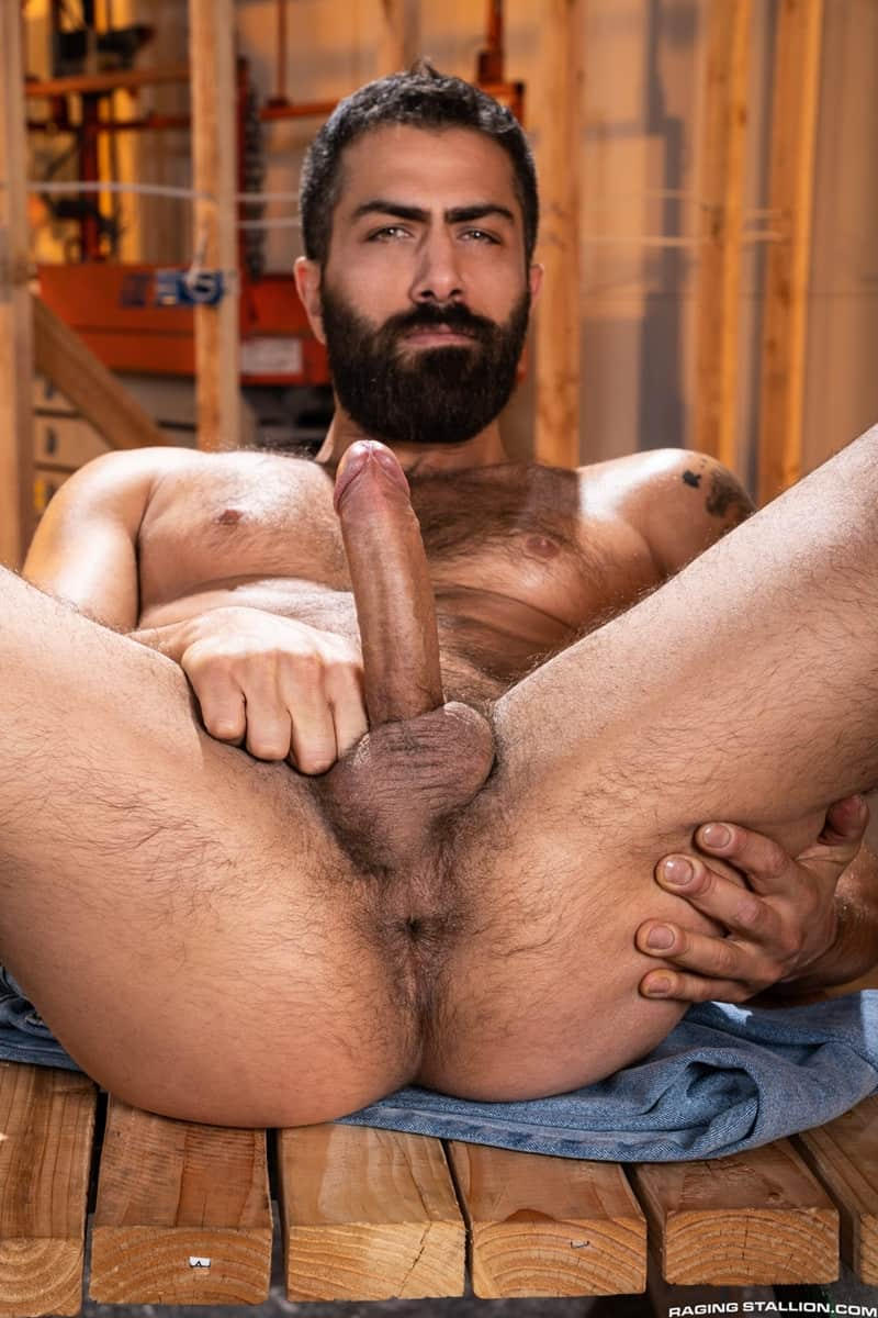 Men for Men Blog Gay-Porn-Pics-004-Adam-Ramzi-Sharok-Hairy-muscle-hunk-anal-fuck-huge-raw-cock-deep-ass-crack-RagingStallion Hairy muscle hunk Adam Ramzi slides his huge raw cock deep into Sharok's ass crack Raging Stallion