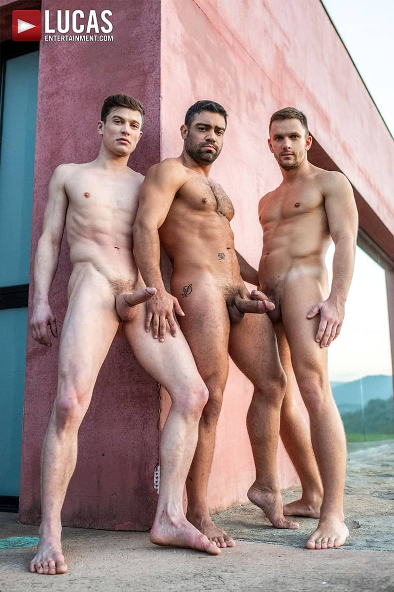 Men for Men Blog Gay-Porn-Pics-007-Andrey-Vic-Wagner-Vittoria-Ruslan-Angelo-Hot-gay-threesome-huge-dicks-double-fuck-hot-muscle-ass-LucasEntertainment Hot gay threesome Andrey Vic and Wagner Vittoria's huge dicks double-fuck Ruslan Angelo's hot muscle ass Lucas Entertainment