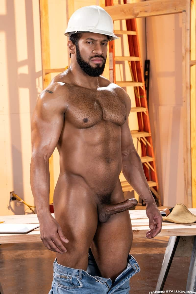 Men for Men Blog Gay-Porn-Pics-007-Derek-Bolt-Jay-Landford-naked-muscle-men-huge-cock-fucking-hot-asshole-RagingStallion Derek Bolt moans with each thrust from Jay Landford's huge cock pummeling his hot asshole Raging Stallion