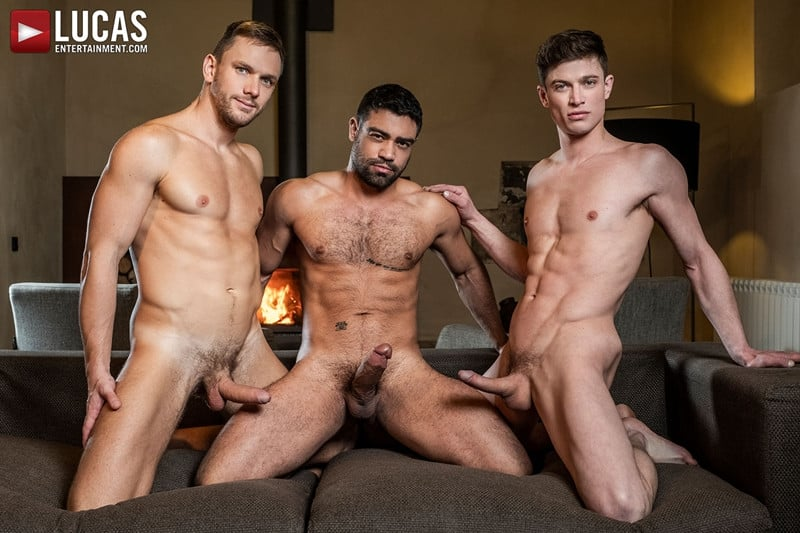 Men for Men Blog Gay-Porn-Pics-009-Andrey-Vic-Wagner-Vittoria-Ruslan-Angelo-Hot-gay-threesome-huge-dicks-double-fuck-hot-muscle-ass-LucasEntertainment Hot gay threesome Andrey Vic and Wagner Vittoria's huge dicks double-fuck Ruslan Angelo's hot muscle ass Lucas Entertainment