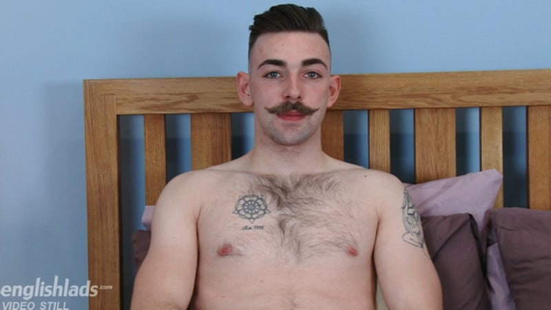 Men for Men Blog Gay-Porn-Pics-006-Miles-Carrow-Hairy-young-hunk-strips-naked-hairy-ass-big-uncut-cock-EnglishLads Hairy young hunk Miles Carrow strips naked showing off his hairy ass and big uncut cock English Lads